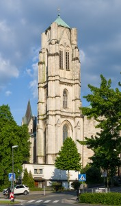 Kirche St. Gertrud in Essen: Foto:Tuxyso / Wikimedia Commons / CC-BY-SA-3.0