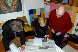 Die Jury bei der Arbeit Foto: Stiftung Bibel und Kultur