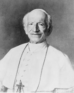 Papst Leo XIII. Foto: Library of Congress